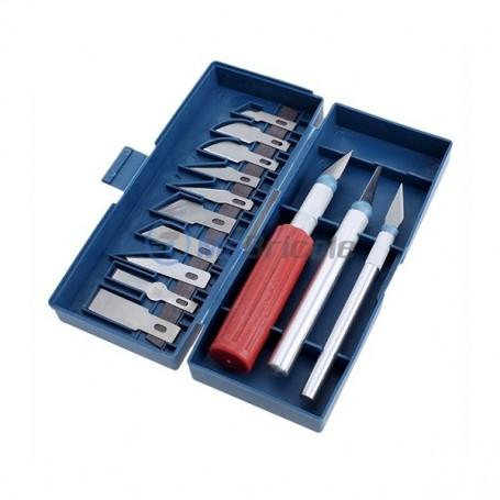 jeu de couteaux de sculpture 13 pièces EMI Tools