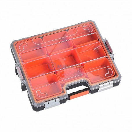 Valise de rengement empilable 45.5*37.5*8cm TACTIX