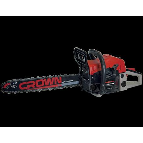 Scie à chaîne à essence 500mm 54.6cc 2300W CROWN