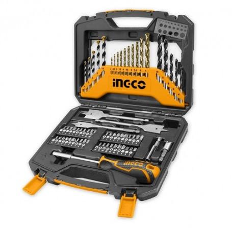 Coffret outils et mèches 67 pièces INGCO