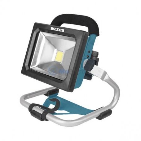 Projecteur Portatif LED 600-1600 Lumen 3 mode 18V 1.5Ah WESCO