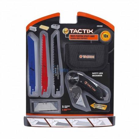Cutteur multi usages métal bois et béton 10 pièces TACTIX
