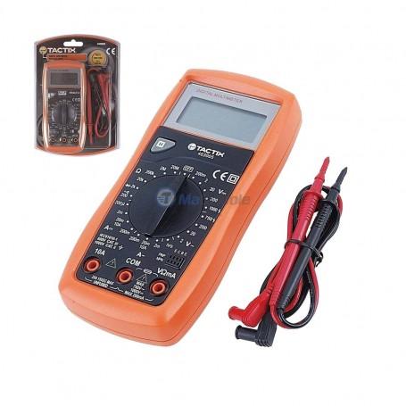 Multimètre digital 10A LCD TACTIX