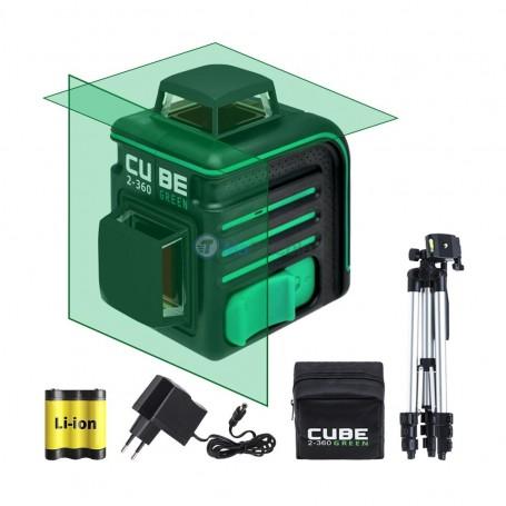 Niveau laser autonivelant 2-360° vert 70m max ADA