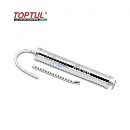 Pistolet d'aspiration d'huile (type robuste) 445mm 1 litre TOPTUL