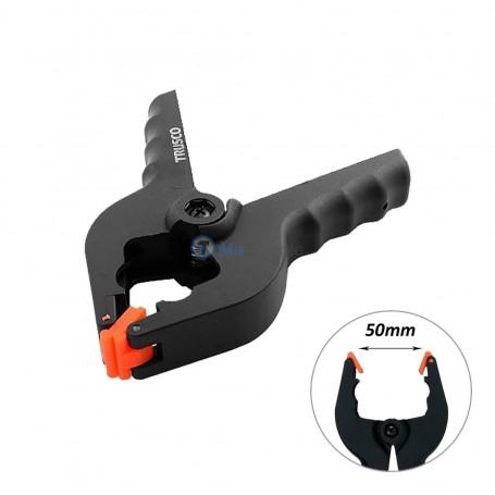 Pince à ressort QUICK-GRIP en plastique 50mm 160mm TRUSCO
