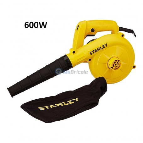 Souffleur 600W avec variateur de vitesse STANLEY