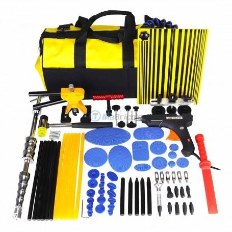 Kit de tolier, réparation débosselage à froid 85 pcs avec valise