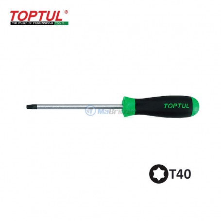 tournevis T40 275mm 150mm TOPTUL