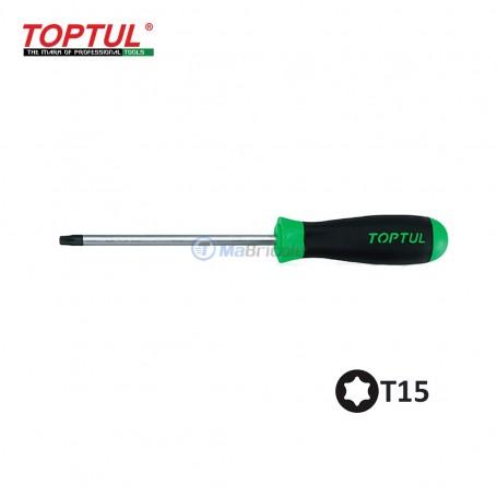 tournevis T15 180mm 75mm TOPTUL