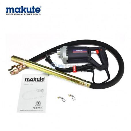 Vibreur électrique 800W avec flexible 35mm x 1,5m MAKUTE