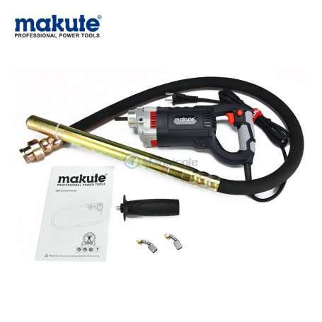 Vibreur électrique 960W avec flexible 35mm x 1,5m MAKUTE
