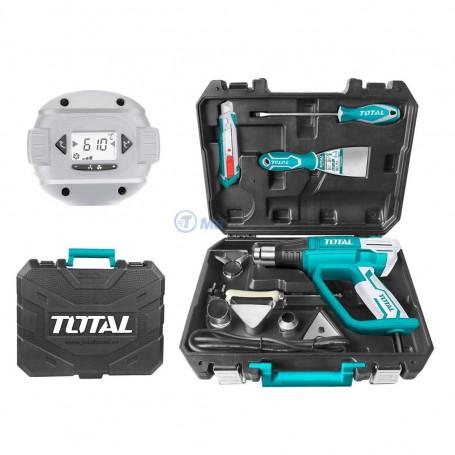 Kit décapeur thermique 2000W 8 accessoires TOTAL