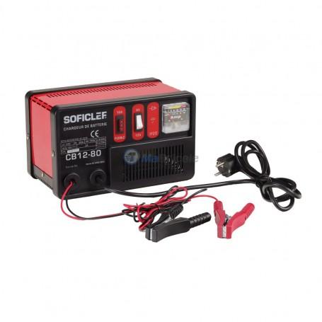 Chargeur de batterie 6-12V 35-80Amp SOFICLEF