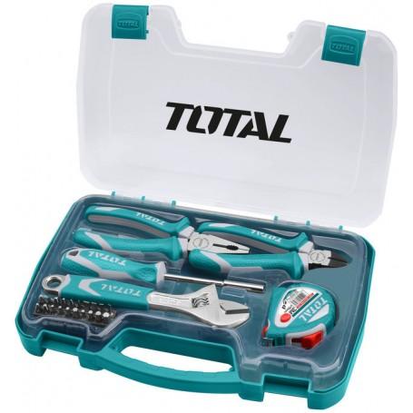 Coffret outils à main 25 pièces TOTAL