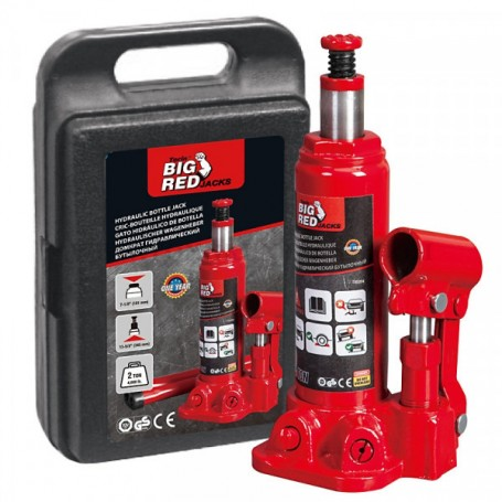 Cric Hydraulique 3T Avec Valise BIG RED